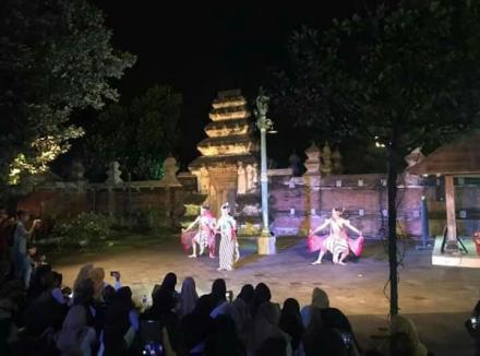Tari Ramayana di Jagalan Tlisih