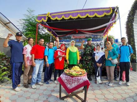 Peresmian Gapura Kelompok Tani Desa