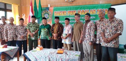 Lurah Desa Jagalan Membuka Raker Pengurus Ranting Muhammadiyah